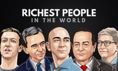 Οι πλουσιότεροι των πλουσίων έχασαν 117 δισ. δολάρια σε μια μέρα