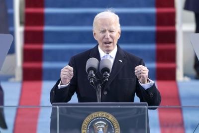 ΗΠΑ: Σχεδόν 40 εκατομμύρια Αμερικάνοι είδαν την ορκωμοσία Biden