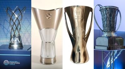 Μέρες... 2007 για το ελληνικό μπάσκετ με 9 ομάδες στα Κύπελλα Ευρώπης!