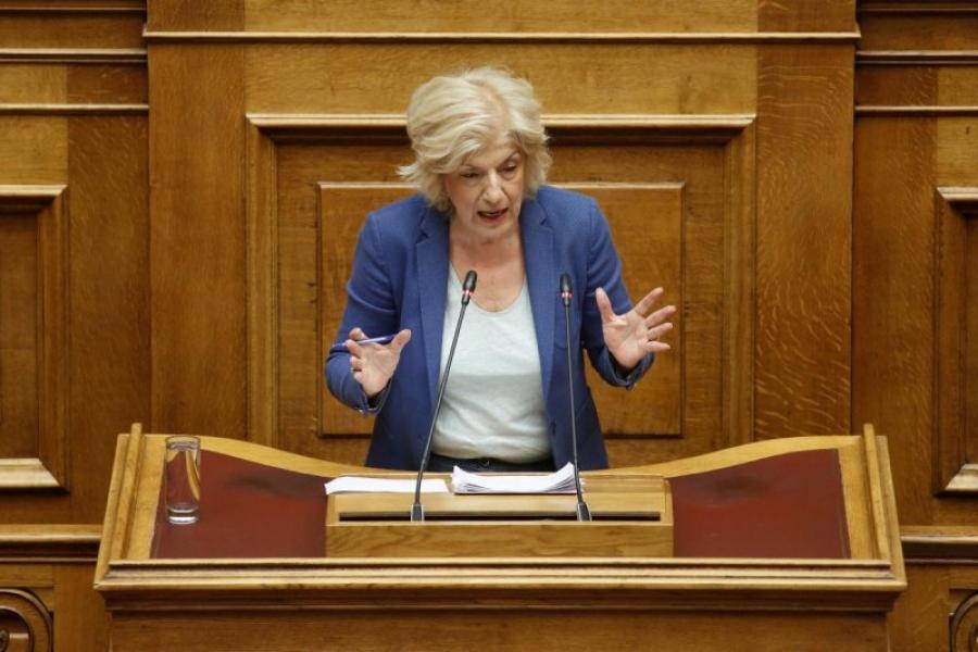 Αναγνωστοπούλου: Η κ. Μενδώνη διαψεύδει τη σύμβαση που έφερε στη Βουλή - Εξαπατά και το Κοινοβούλιο, αλλά και τον εαυτό της