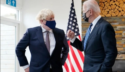 Johnson μετά τη συνάντηση με Biden: Άφθαρτη η σχέση Μ. Βρετανίας – ΗΠΑ, μοιραζόμαστε κοινές θέσεις