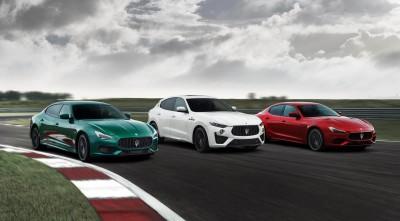 Maserati: Με V8 της Ferrari οι top Ghibli και Quattroporte Trofeo