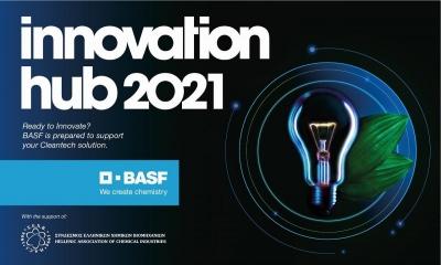 Έναρξη διαγωνισμού καινοτομίας Innovation Hub 2021 της BASF