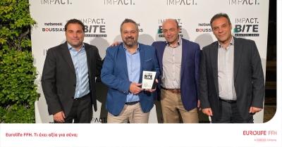 Silver award για τη Eurolife FFH στα Impact BITE Awards
