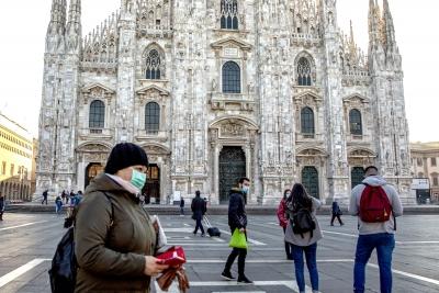 Ιταλία - Κορωνοϊός: Υψηλός ο αριθμός κρουσμάτων και θανάτων στο 24ωρο, 14.078 και 521 αντίστοιχα
