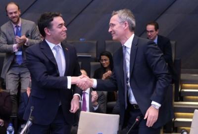 Stoltenberg: Εντυπωσιακό το θάρρος Τσίπρα - Zaev - Dimitrov: Ακόμα και οι εχθροί θα πειστούν