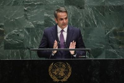 Αύριο 23/9 η ομιλία Μητσοτάκη στη Γενική Συνέλευση του ΟΗΕ