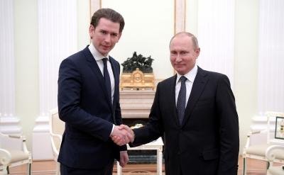 Putin και Kurz συζήτησαν το ενδεχόμενο να προμηθευθεί η Αυστρία το ρωσικό εμβόλιο Sputnik-V