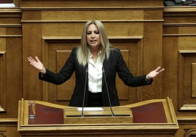 Το πόθεν έσχες της Φώφης Γεννηματά: Συνολικό καθαρό εισόδημα 37.196 ευρώ, καταθέσεις 22.296 ευρώ