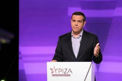 Στη Θεσσαλονίκη ο Τσίπρας - Επίσκεψη σε περίπτερα της 85ης ΔΕΘ