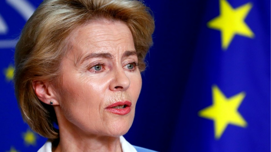 Aισιόδοξη η Von der Leyen πως το 70% των Ευρωπαίων θα έχει εμβολιαστεί μέχρι τέλος καλοκαιριού