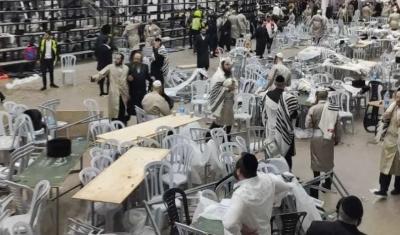 Δυτική Όχθη: Δύο προσκυνητές νεκροί και 132 τραυματίες,από κατάρρευση εξέδρας σε συναγωγή