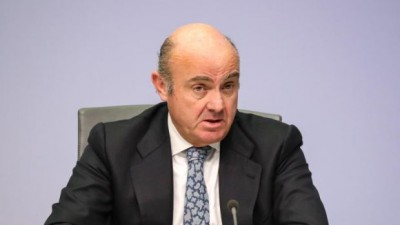 De Guindos (ΕΚΤ): Δεν στοχεύουμε τη συναλλαγματική ισοτιμία του ευρώ, αλλά είναι σημαντική μεταβλητή