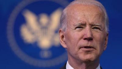 Biden (ΗΠΑ): Είμαστε αρκετά μπροστά από το στόχο των 100 εκατ. εμβολιασμών σε 100 ημέρες
