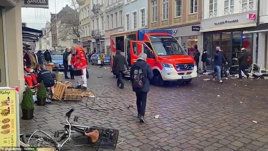 Γερμανία: Πέντε οι νεκροί και 15 οι τραυματίες από την επίθεση στο Trier - Υπό την επήρεια αλκοόλ ο δράστης