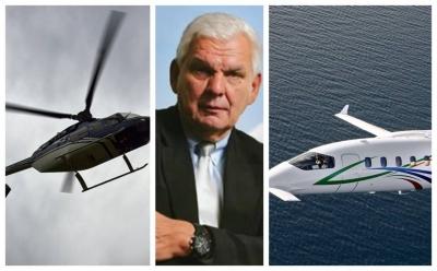 Τα ελικόπτερα Κουτσολιούτσου, ο Βακάκης, ο υπόδικος πρόεδρος ΚΑΕ και ο Παντόφλας από Βουκουρέστι