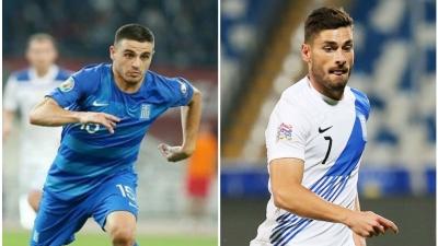 Εκτός αποστολής Μασούρας και Γαλανόπουλος στην Εθνική Ελλάδος!
