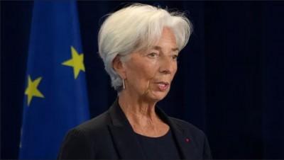 Lagarde (ΕΚΤ): Χαμηλή η ροή κεφαλαίων προς τις πράσινες επενδύσεις