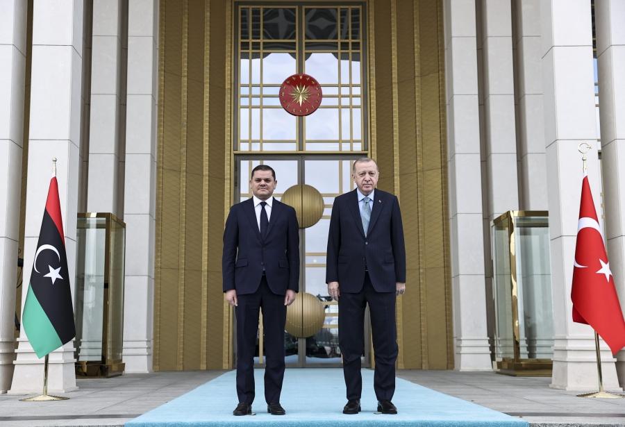 Dbeibah (πρωθυπουργός Λιβύης): Σε απόλυτη ισχύ το τουρκολιβυκό σύμφωνο, εμβαθύνουμε τη συνεργασία μας με την Τουρκία