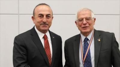 Συνάντηση Cavusoglu (Τουρκία) και Borrell (ΕΕ) 18 Ιουνίου εν όψει της Συνόδου Κορυφής (24-25/6)