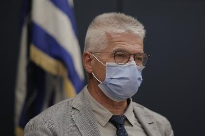 Γώγος: Απαραίτητη η μάσκα με τέτοια διασπορά του ιού – Στοίχημα η επιτυχία των μέτρων