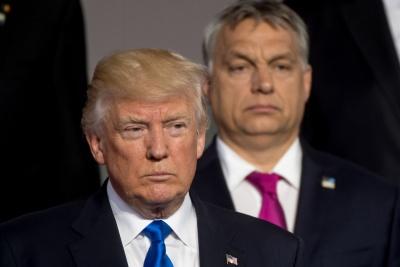Trump για Orban: Είναι σκληρός αλλά αξιοσέβαστος - Εγγυήθηκε την ασφάλεια της Ουγγαρίας