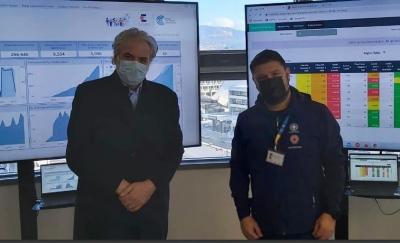 Στην Πολιτική Προστασία ο πρώην Επίτροπος της ΕΕ, Χρήστος Στυλιανίδης – Συνάντηση με τον Χαρδαλιά