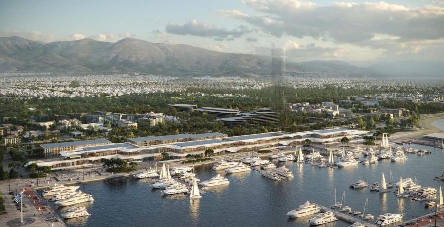 Ελληνικό - Lamda Development: Κεντρικό σημείο της ανάπτυξης η Μarina Galleria