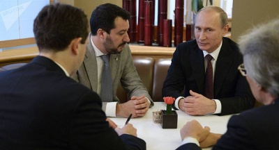 Αποκάλυψη: H Ρωσία επιχείρησε να χρηματοδοτήσει μυστικά τη Lega του Salvini