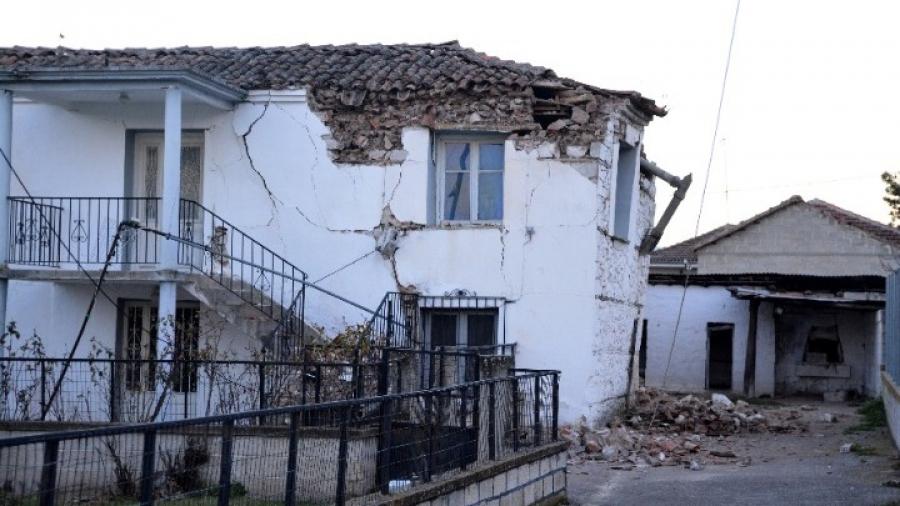 Θεσσαλία: 1.722 ακατάλληλες κατοικίες από τον σεισμό