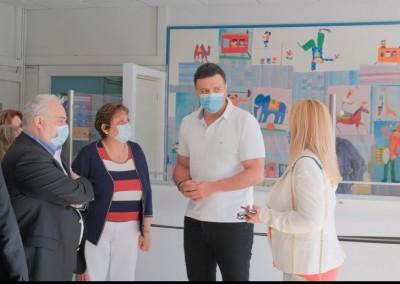 Επίσκεψη Κικίλια στο Γενικό Νοσοκομείο Παίδων Πεντέλης: Διπλασιάζουμε τις ΜΕΘ