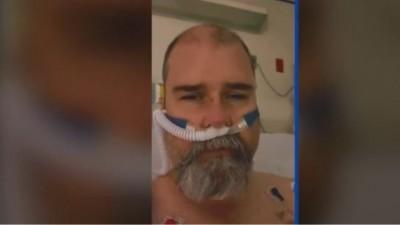 Αρνητής της μάσκας νόσησε βαριά από κορωνοϊό και απευθύνει έκκληση για προσοχή από το νοσοκομείο