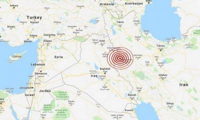 Σεισμική δόνηση 5,7 Ρίχτερ στο Ιράν -  Αγωνία για νεκρούς ή ζημιές