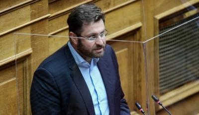 Ζαχαριάδης για υπόθεση Λιγνάδη: Πώς μένει στη θέση της μια υπουργός που ομολογεί ότι την εξαπατούν;