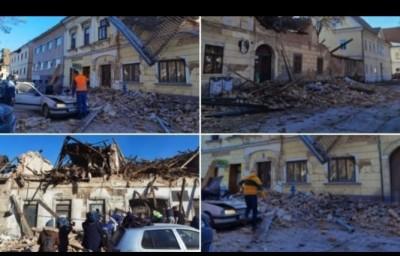 Ισχυρός σεισμός μεγέθους 6,4 Ρίχτερ στην Κροατία - Ένα παιδί νεκρό και τραυματίες