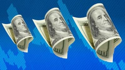 Το δολάριο σημειώνει την καλύτερη εβδομάδα σε εννέα μήνες