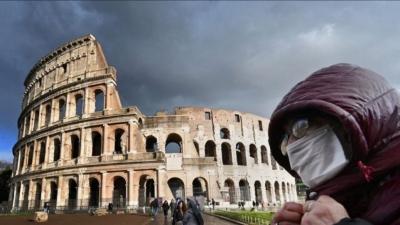Ιταλία: Μείωση 19% των νέων κρουσμάτων κορωνοϊού την τελευταία εβδομάδα