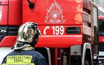 Φωτιά στην Ξάνθη - Πυρκαγιά σε δασική έκταση στα Άβδηρα