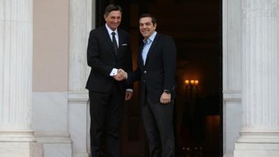 Τσίπρας σε Σλοβένο Πρόεδρο: Από εδώ και στο εξής θα αποκαλείται την πΓΔΜ «Βόρεια Μακεδονία»