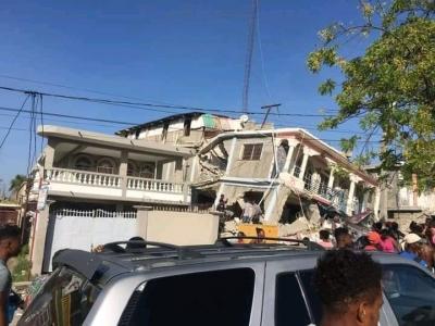 Αϊτή: Τουλάχιστον 29 νεκροί από το χτύπημα των 7,2 βαθμών της Κλίμακας Ρίχτερ