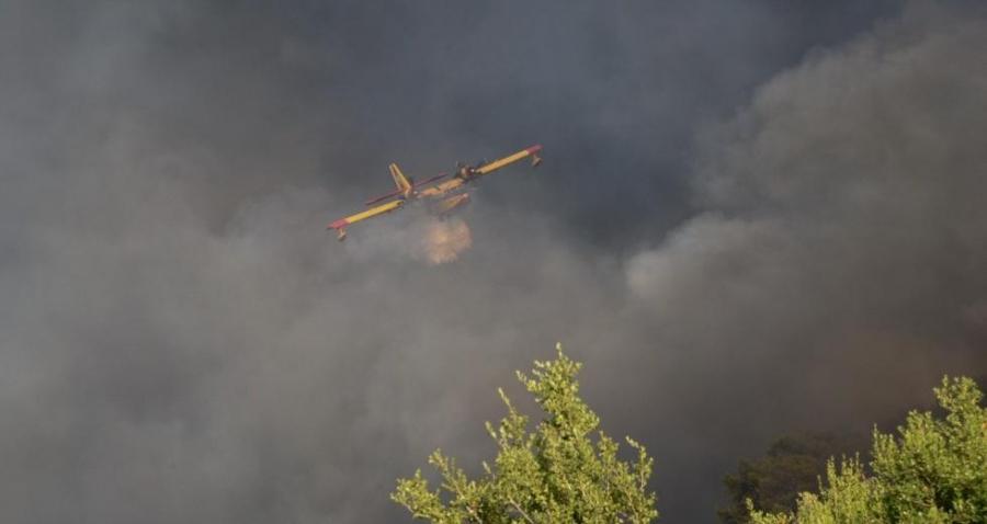 Υπό έλεγχο η μεγάλη πυρκαγιά στο Αγρίνιο – Πυροσβεστικές δυνάμεις στο σημείο για τυχόν αναζωπυρώσεις