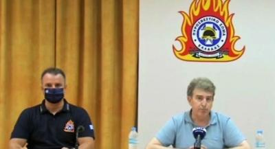 Χρυσοχοΐδης: Πολύ βελτιωμένη η εικόνα της πυρκαγιάς στην Αχαΐα - Κατορθώσαμε να μην λάβει μεγαλύτερες διαστάσεις