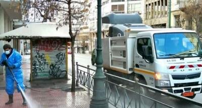 Δήμος Αθηναίων: Η Ομόνοια… αλλιώς - Κυριακάτικη παρέμβαση καθαριότητας και απολύμανσης