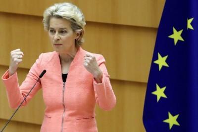 Von der Leyen (Κομισιόν): Μαζί μπορούμε να νικήσουμε τον κορωνοϊό – Στις 27/12 οι εμβολιασμοί στην ΕΕ