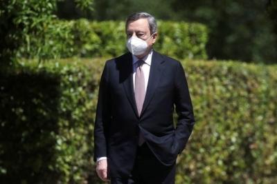 Draghi (Ιταλία): Συμβiβαστικό σχέδιο της Κομισιόν για υποχρεωτική μεταβίβαση των πατεντών για τα εμβόλια Covid-19