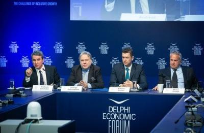 Οικονομικό Φόρουμ Δελφών: Τo πολιτικό τοπίο μετά τη Συμφωνία των Πρεσπών