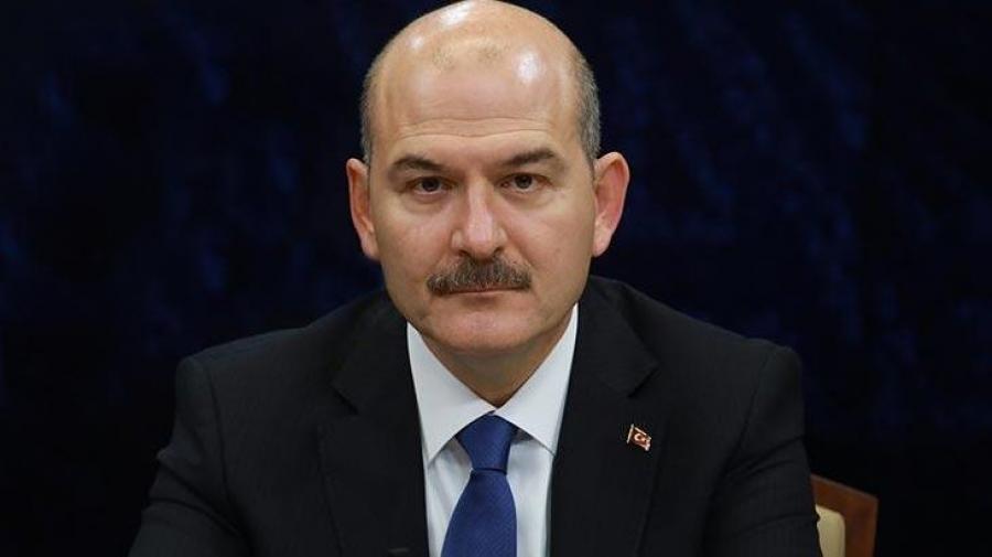 Εμπρηστικός ο Soylu (ΥΠΕΣ Τουρκίας): Οι ελληνικές δυνάμεις επιχειρούν να κάψουν ανθρώπους