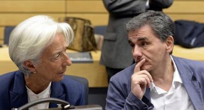 Lagarde σε Τσακαλώτο: Θετική η απόφαση της ελληνικής κυβέρνησης για πρόωρη αποπληρωμή του ΔΝΤ