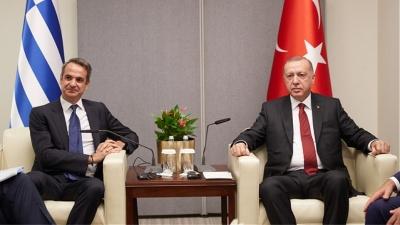 Κλίμα για συνάντηση Μητσοτάκη με Erdogan - Η δήλωση Δένδια που ενισχύει τα σενάρια