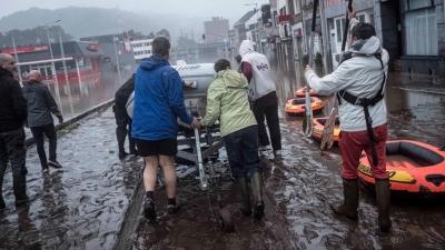 Πλημμύρες στο Βέλγιο: Στους 14 αυξήθηκαν οι νεκροί